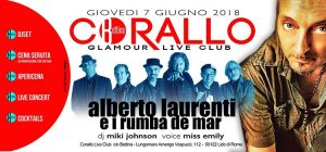 Corallo Ostia Giovedì 7 Giugno 2018 – Glamour Live Club
