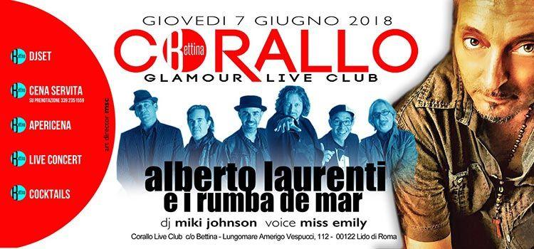 Corallo Ostia 7 Giugno - Glamour Live Club