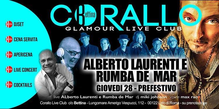 Corallo Ostia 28 Giugno - Glamour Live Club