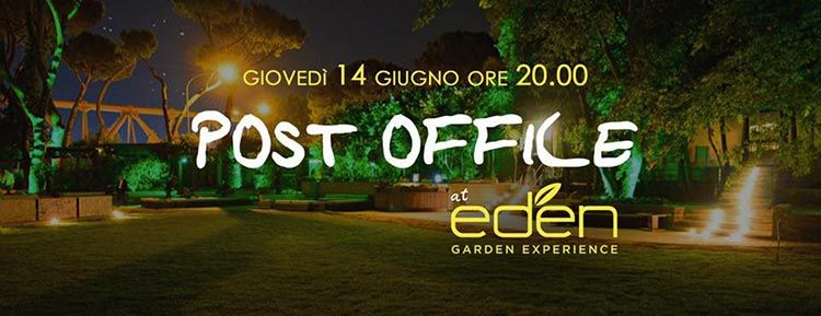 EDEN Roma 14 Giugno - Post Office at Eden