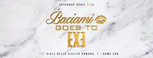 Exe Roma Sabato 21 Aprile 2018 – Baciami