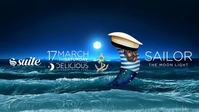 La Suite Sabato 17 Marzo 2018 - Sailor Party #Delicious