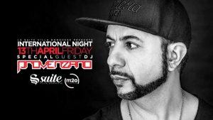 La Suite Venerdì 13 Aprile 2018 – International Night