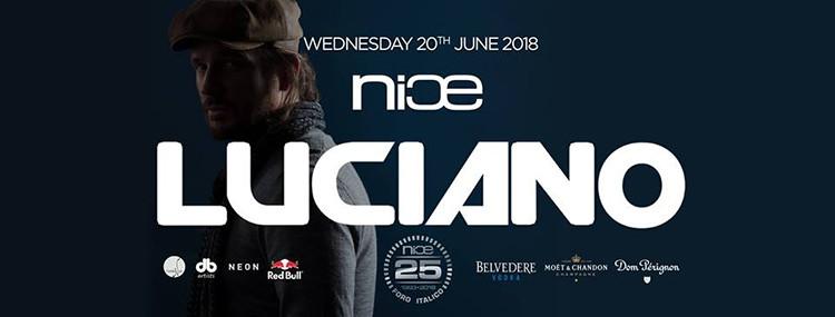 NICE Roma 20 Giugno pres. Luciano Official Event