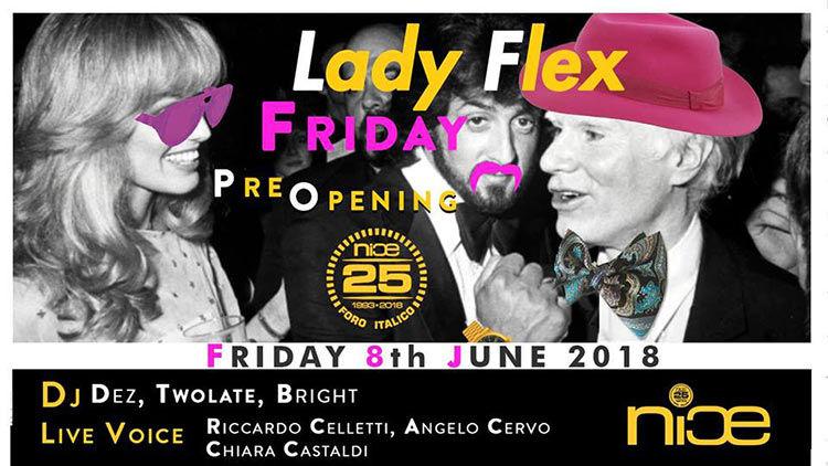 NICE Roma 8 Giugno - Pre Opening - Lady Flex