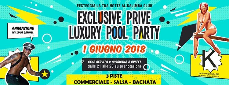 Kalimba Club 1 Giugno- Luxury Pool Party