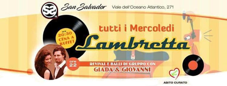 San Salvador 9 Maggio Lambretta