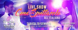 Too Club Roma Sabato 20 Gennaio 2018 – Caprichosa