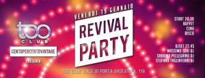 Too Club Roma Venerdi 19 Gennaio 2018 – Il Venerdì del Too Club