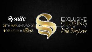 La Suite Sabato 26 Maggio 2018 – #Delicious / Exclusive Closing Party