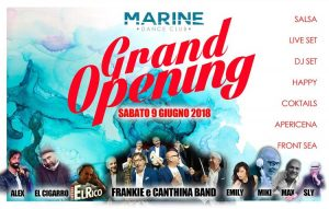 Marine Village Sabato 9 giugno 2018 Grand Opening