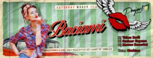 Project Roma Sabato 17 Marzo 2018 – Baciami
