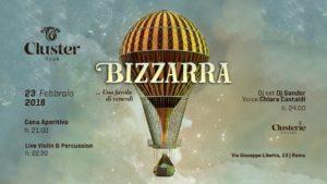 Cluster Roma Venerdì 23 Febbraio 2018 – Bizzarra una favola di Venerdi