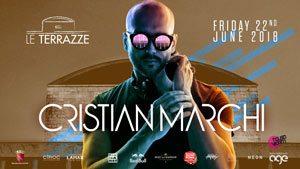 Le Terrazze Eur Roma Venerdì 22 Giugno 2018 – Cristian Marchi