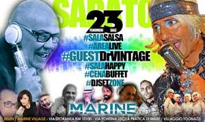 Marine Village sabato 23 Giugno 2018 – Saturday Night