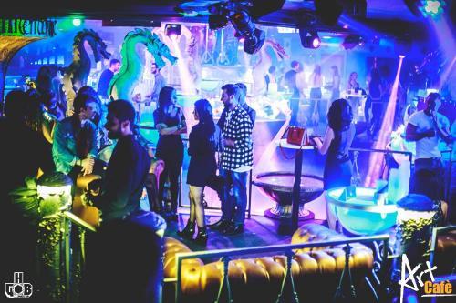 Una discoteca unica nel suo genere a due passi da Villa Borgese.