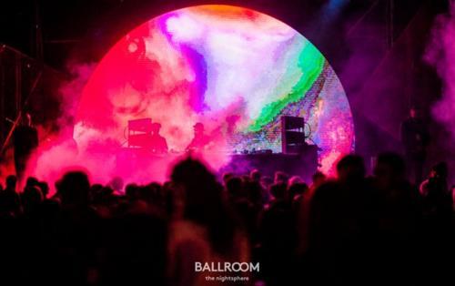 Foto di un evento Ballroom di Roma.