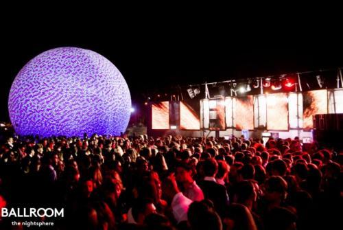 Scatto del Ballroom, evento nelle discoteche di Roma