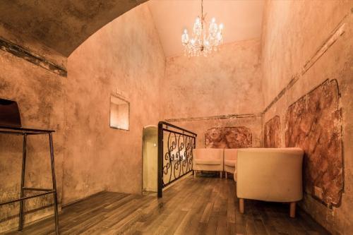 La sala interna del Lyo, in zona Roma Centro.
