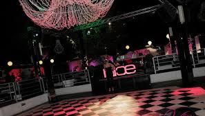 Sala interna della Discoteca Nice di Roma.