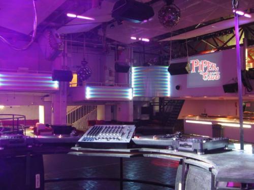 La storica discoteca Piper di Roma.