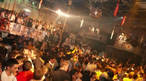 La discoteca Piper in zona Parioli