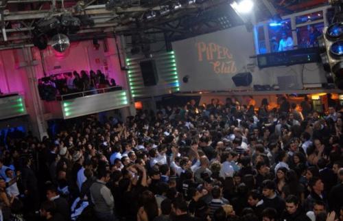 La Discoteca Piper Roma in una serata magica.