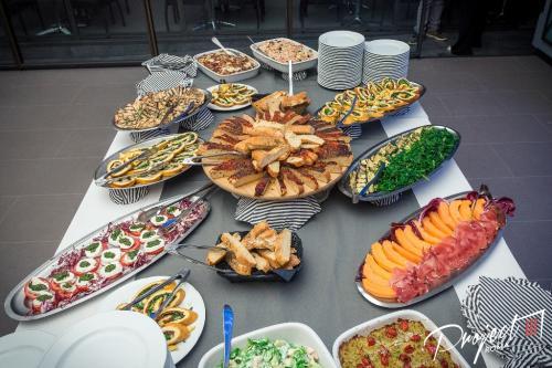 Il Project offre anche un aperitivo magnifico.