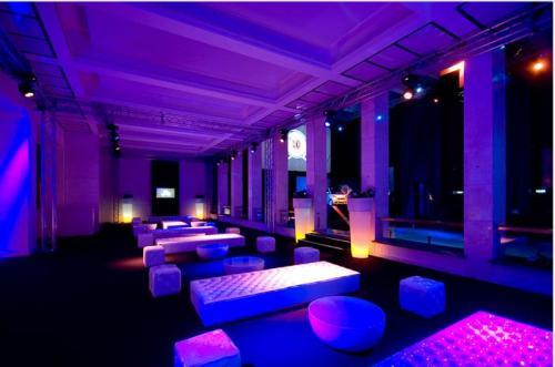 La discoteca del salone delle Fontane di Roma,