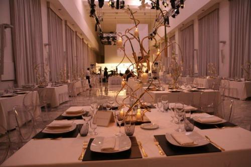 Una cena di gala allo Spazio 900 - Eur, Roma.