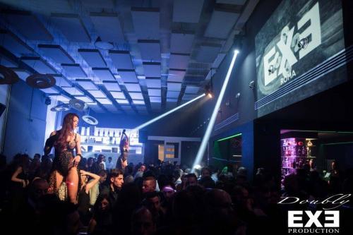 Le serate nella Discoteca Exe nel cuore dell'Eur - Roma.