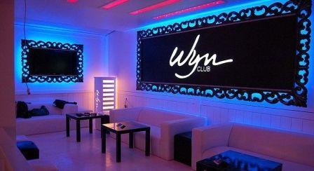 La Sala interna del Wyn di Ostia