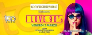 Too Club Venerdi 2 Marzo 2018