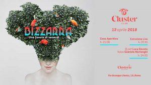 Cluster Roma Venerdì 13 Aprile 2018 – Bizzarra una favola di Venerdì